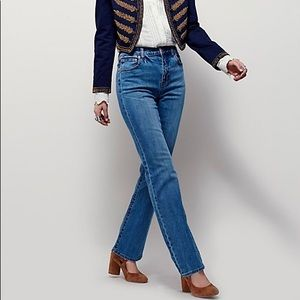 Free People Bootcut Halpin Mom Jeans 27